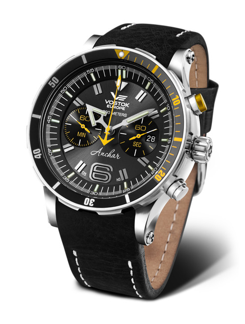 Vostok-Europe Anchar Dive Chronograph Watch 6S21/510A584