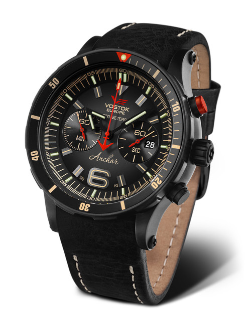 Vostok-Europe Anchar Dive Chronograph Watch 6S21/510C582