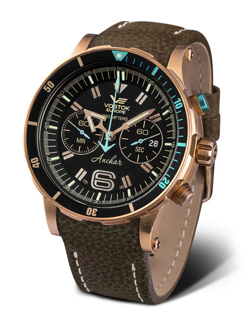Vostok-Europe Anchar Dive Chronograph Watch 6S21/510O585