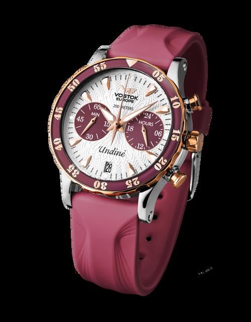 Vostok-Europe Ladies' Undine Chronograph Watch VK64/515E567
