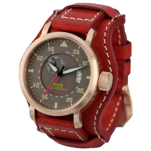 DeltaT SoRa Pilot 1939 G2 Automatic Multi-Strap Watch (DeltaT-1939 G2)