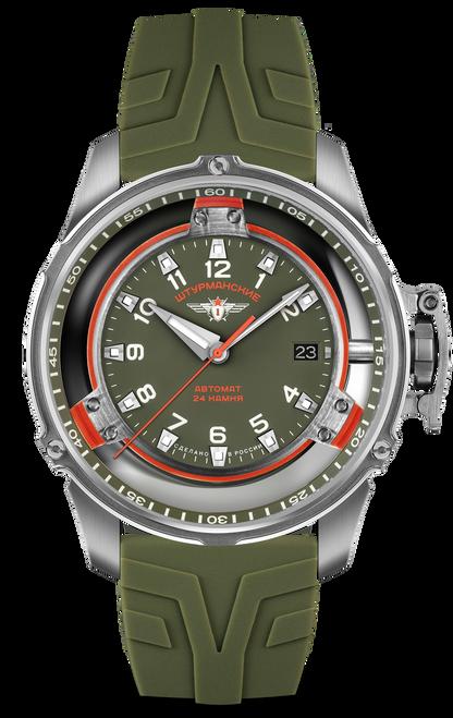 Sturmanskie Mars Green Automatic Watch Kit NH35/9035977