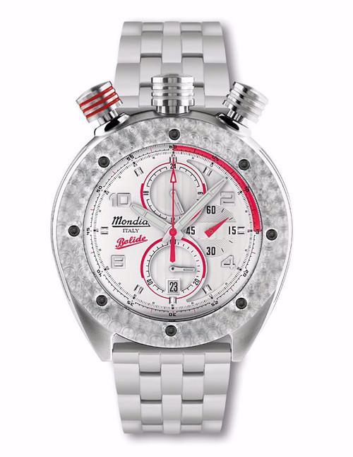 Mondia Italy Bolide Chronograph Watch MI-769-SS-2WTRD-CM