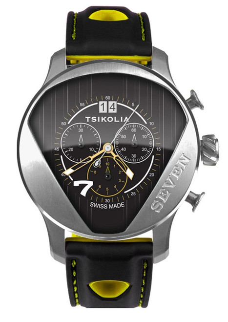 Tsikolia Seven Limited Edition Black Dial