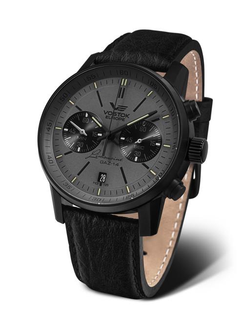 Vostok-Europe Watch Gaz Limo Tritium Chronograph 6S21-565C597