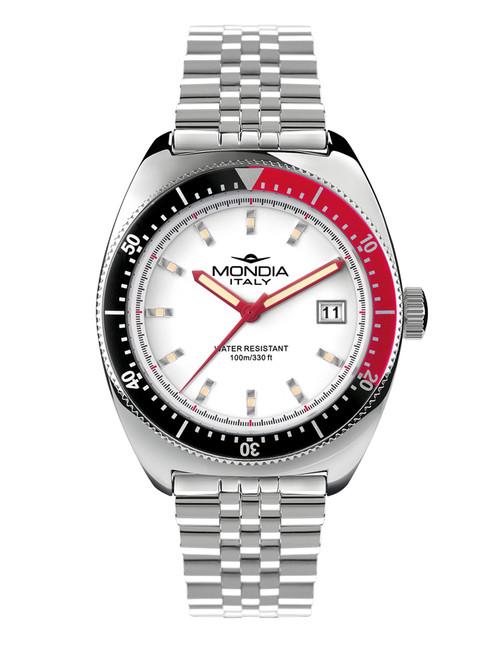 Mondia Italy Madison Classic Watch MI-791-SS-02WT-GB