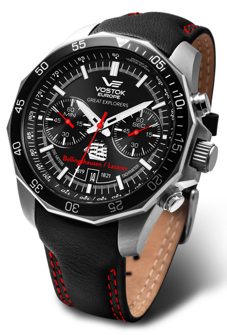 Vostok-Europe Great Explorers Antarctic Expedition Edition - GEBLA