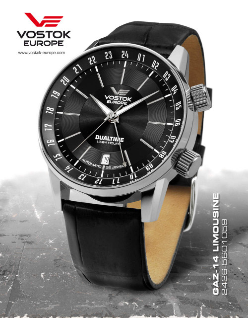 Imperfect  Vostok-Europe Gaz-Limo Automatic Watch 2426/5601059