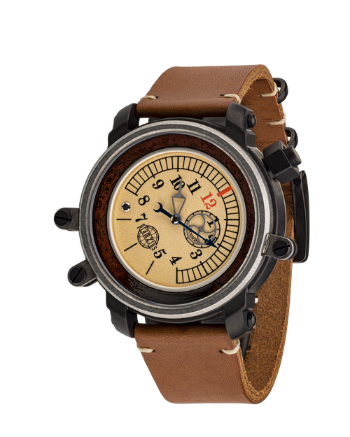 Pramzius Gauge Master Train DNA Automatic Watch P142402