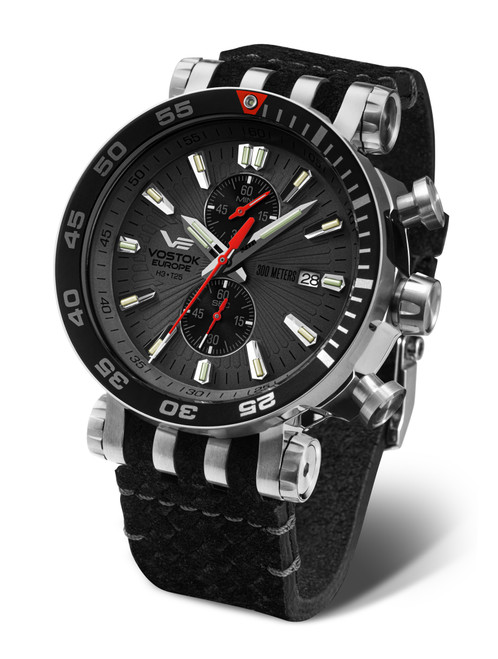 Vostok-Europe Energia Mecha-Quartz Chronograph - VK61-575A588
