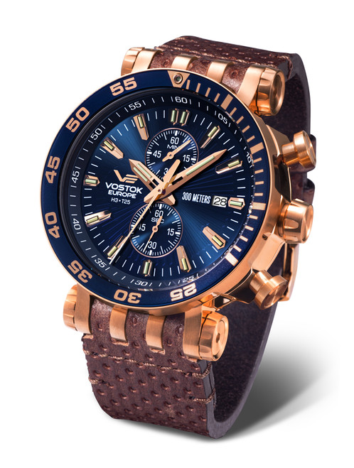 Vostok-Europe Energia Mecha-Quartz Chronograph - VK61-575B590