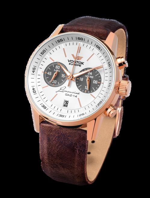 Vostok-Europe Gaz-Limousine Watch VK64/560B600