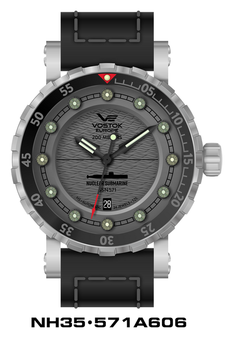 Vostok-Europe SSN-571 Automatic Submarine Watch (NH35-5718606)