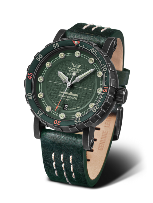 Vostok-Europe SSN-571 Automatic Submarine Watch (NH35-571F608)