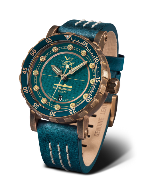 Vostok-Europe SSN-571 Automatic Submarine Watch (NH35-571O609)