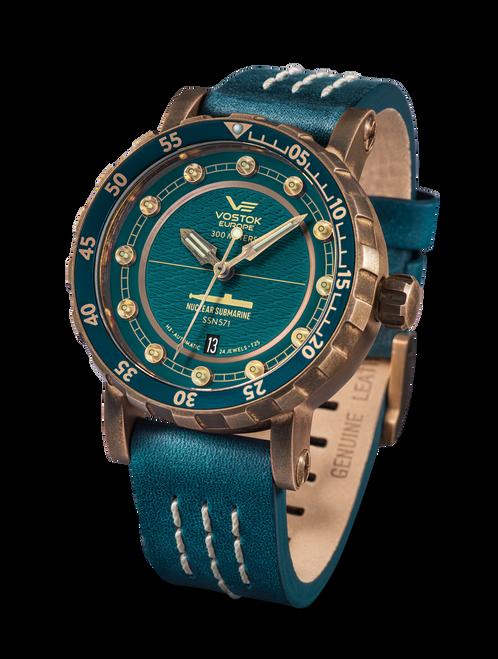 Vostok-Europe SSN-571 Automatic Submarine Watch (NH35-571O609)
