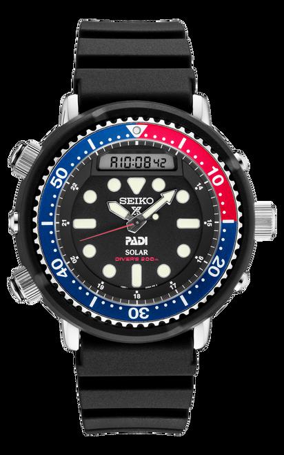 Seiko Prospex Solar PADI Special-Edition Diver SNJ027