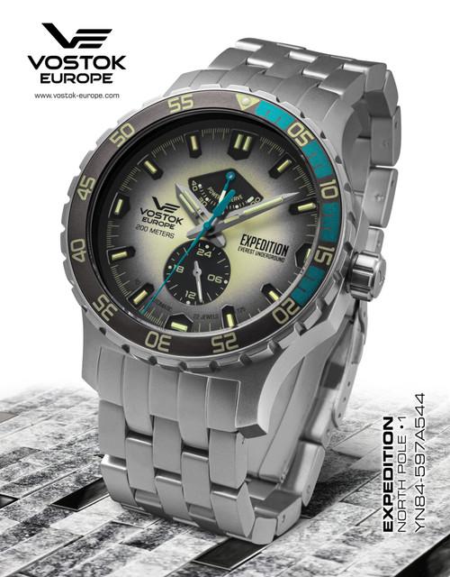 Vostok-Europe Expedition Everest Underground Automatic Watch YN84/597A544B