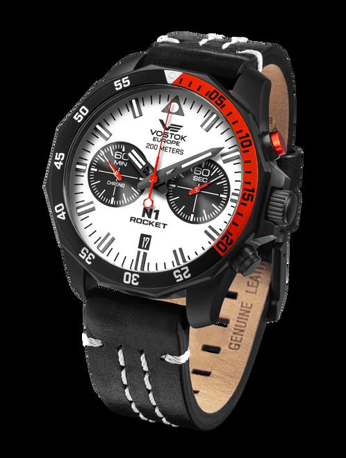 Vostok Europe Rocket N1 Chrono Quartz Full Lume Watch 6S21-225C620