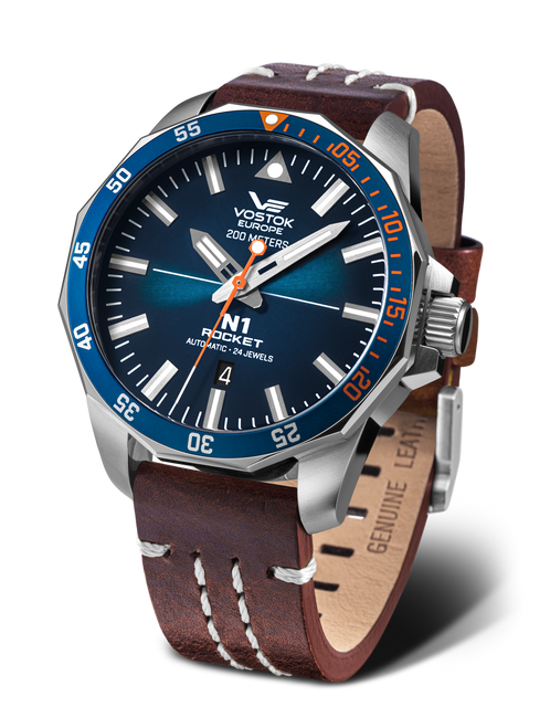 Vostok-Europe N1 Rocket Automatic Watch NH35-225A615 (NH35-225A615)