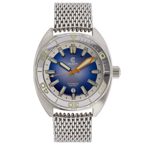 Ocean Crawler Core Diver - Silver/Gradient Blue V3