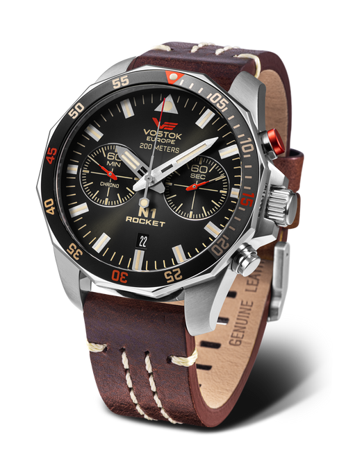 Vostok Europe Rocket N1 Chrono Quartz  Watch 6S21-225A618