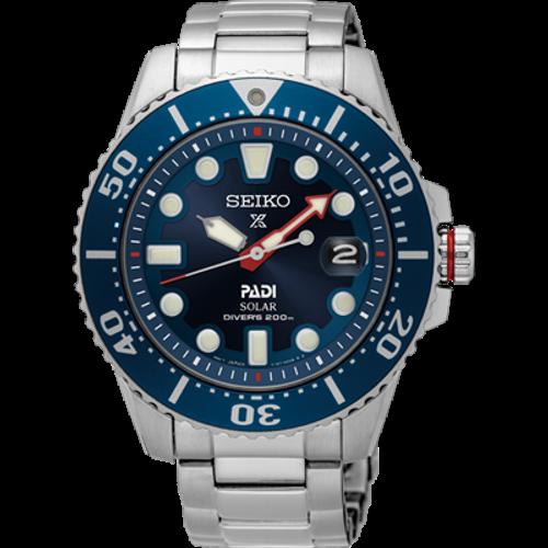 Seiko Padi Automatic Prospex Divers Men's Steel Watch SNE549