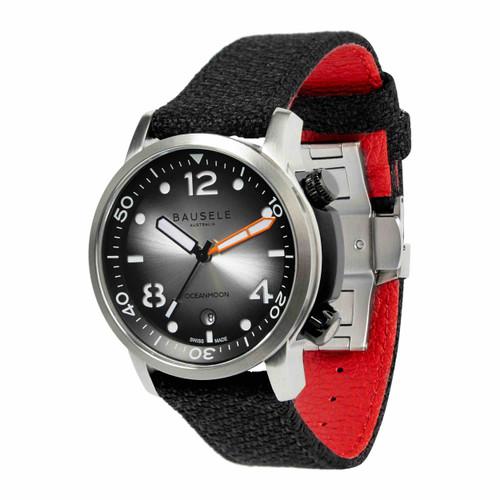 Bausele OCEANMOON IV Swiss Made Dive Watch | SILVER (OCEANMOON IV | SILVER)