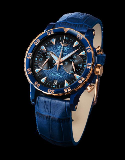 Vostok-Europe Undine Ladies Chronograph Watch VK64/515E628