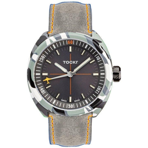 Tockr Hydro-Dipped Skytrain Grey - 42mm - Automatic