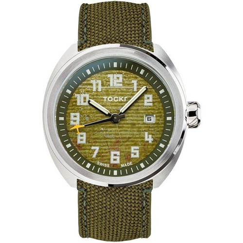 Tockr D-Day C-47 Striped Dial - 42mm - Automatic