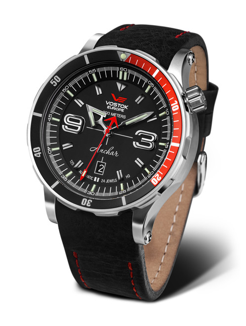 Pre-Owned Vostok-Europe Anchar Mens Diver Watch NH35-510A587