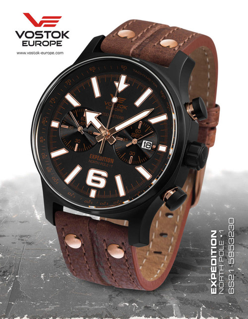 Pre-owned Vostok-Europe Expedition North Pole-1 6S21/5953230