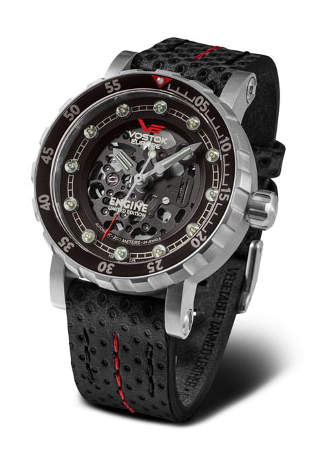 Vostok-Europe Engine Automatic Watch (NH72-571A646)