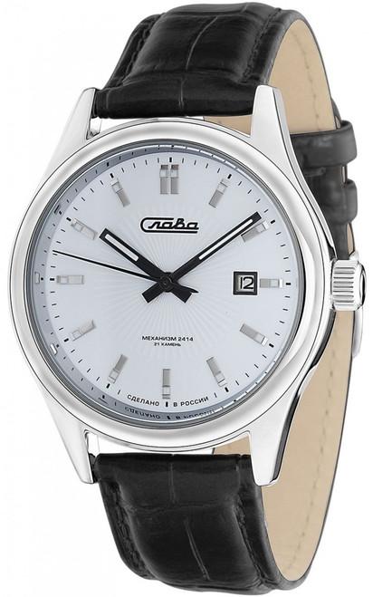 Slava Russian mechanical In-House Movement wrist watch 1361603/300-2414