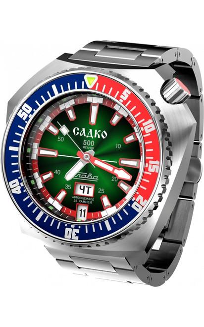 Slava Sadko Automatic Watch In-House Movement 5007169/100-2427