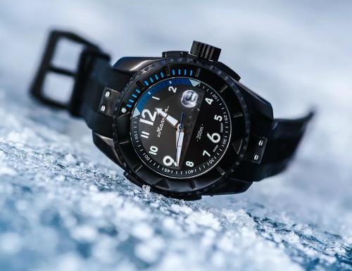 Molnija Baikal Black Automatic Watch