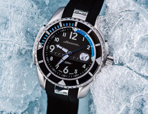 Molnija Baikal Steel Automatic Watch