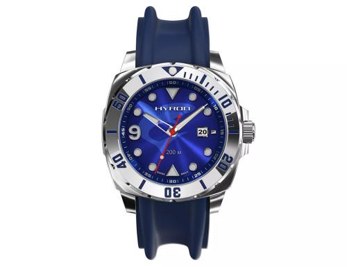 Molnija Hyron Deep Blue Swiss Movement Manual-Wound Watch