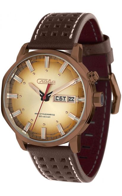 Slava Russian Automatic In-House Movement wrist watch 7028033/300-2427