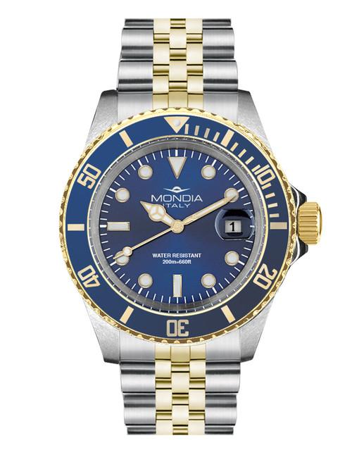 Mondia Italy Madison Classic Watch MI-785-SOBL-BL-GB