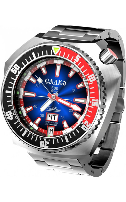 Slava Sadko Automatic Watch In-House Movement 5000168/100-2427