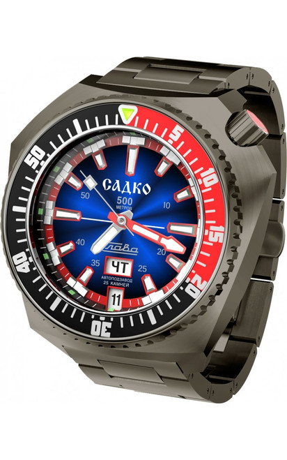 Slava Sadko Automatic Watch In-House Movement 5006168/100-2427