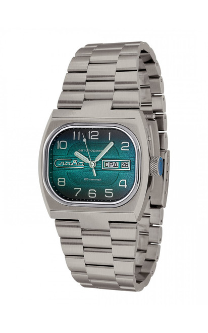 Slava Automatic Watch Titanium In-House Movement 0220303/100-2427