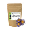 MY HERB CLINIC ® BLUE LOTUS ORGANIC WATERLILY Nymphaea Caerulea - WHOLE FLOWER