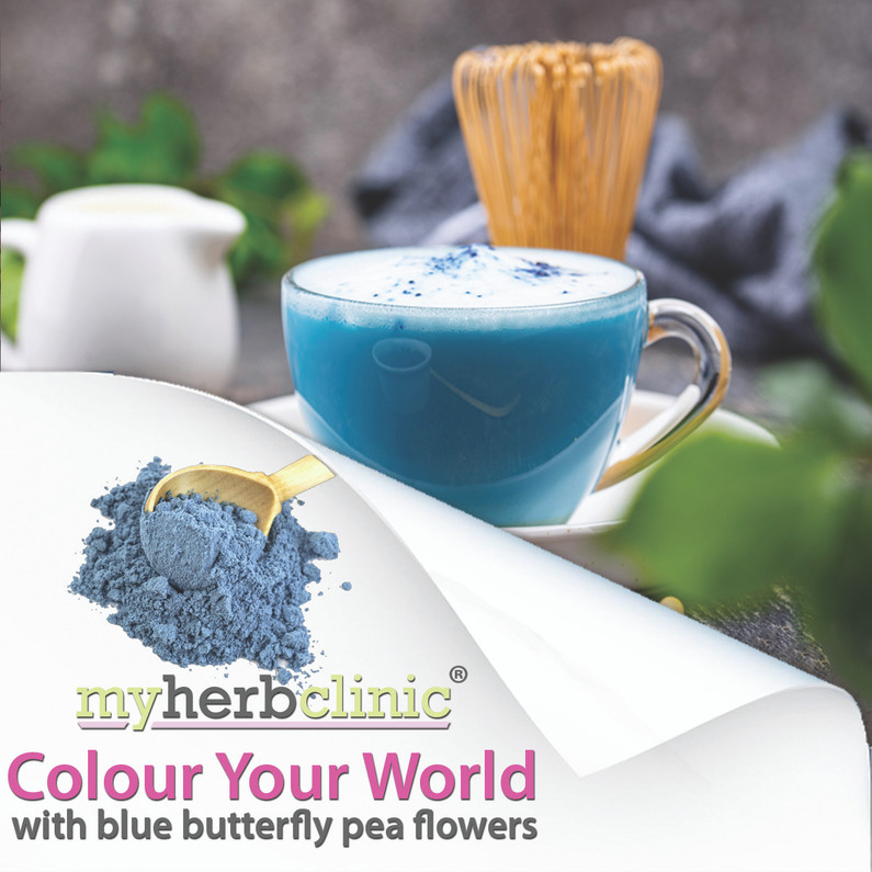 Colour Your World - with Blue Butterfly Pea Flowers