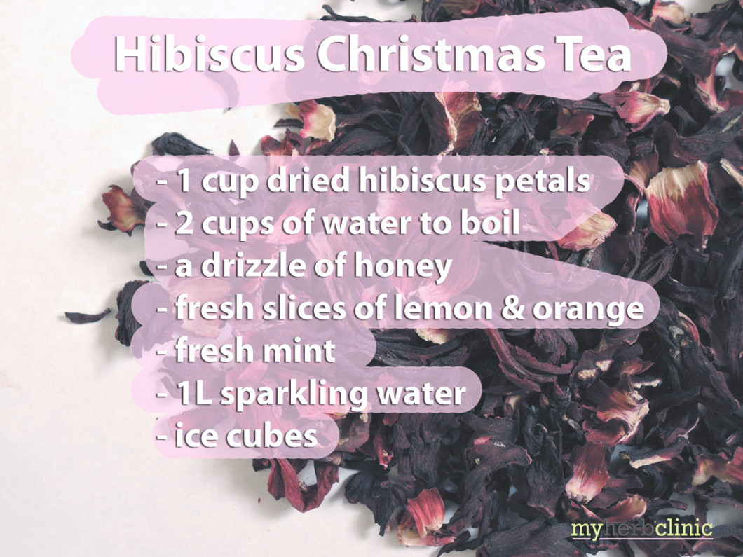 Hibiscus Christmas Tea Recipe
