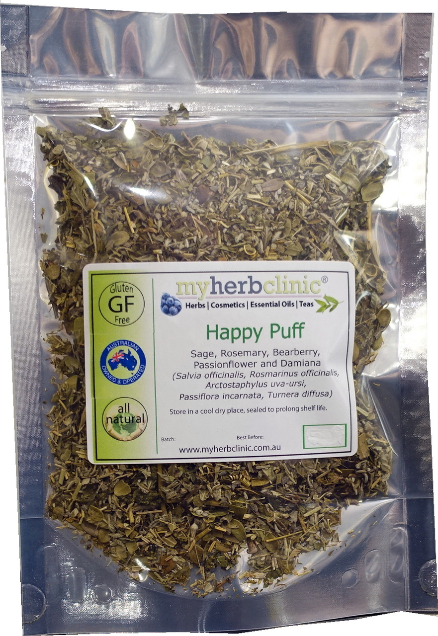 Happy Puff Organic Alternative Smoking Smoke Herbal Herb High Tea
