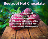 Beetroot Hot Chocolate Recipe