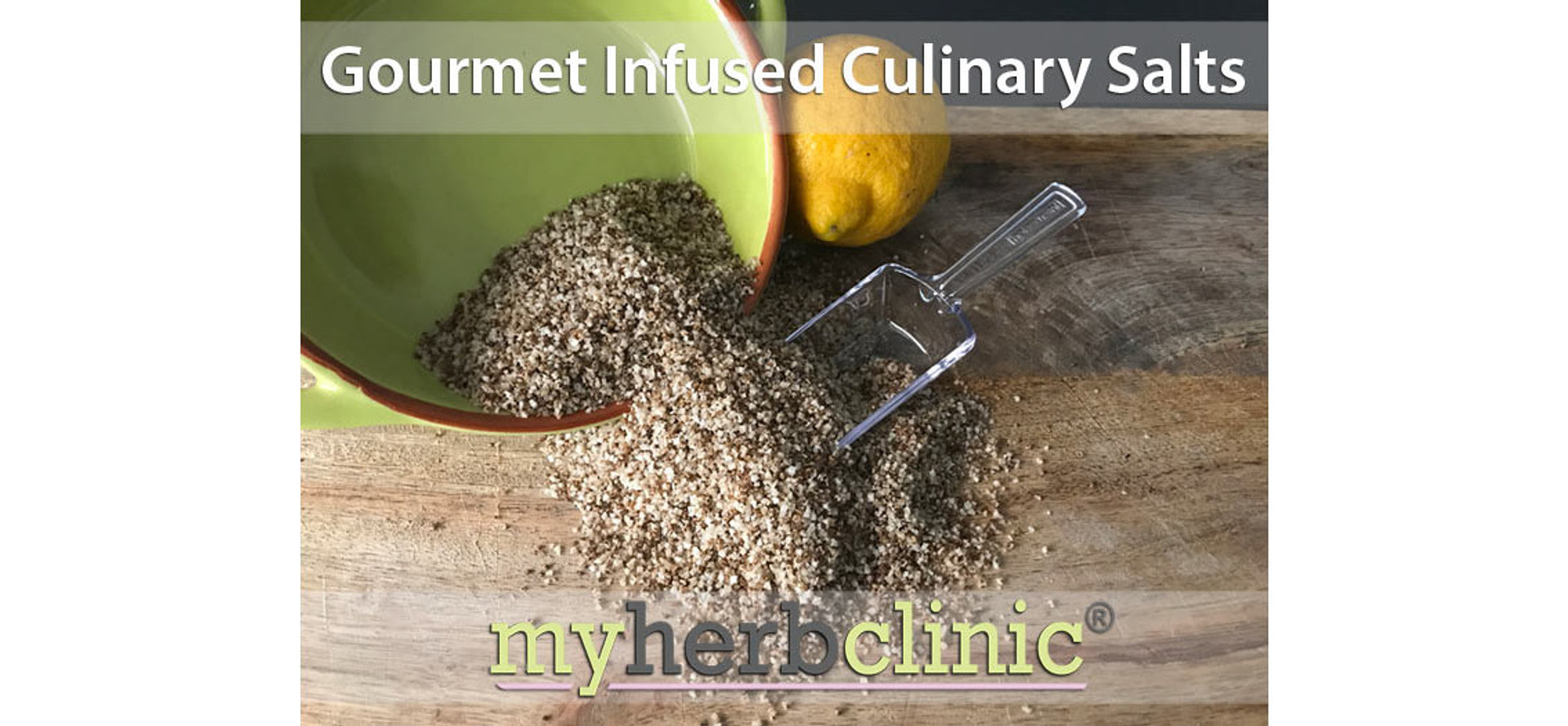 Gourmet Infused Culinary Salts